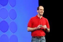 scott guthrie, corporate vice président, .net developer platform, a présenté