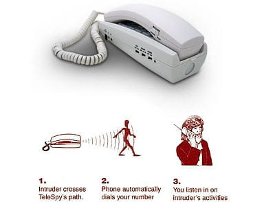 son nom : le telespy motion detecting dialer, un gadget anti-intrus ultime