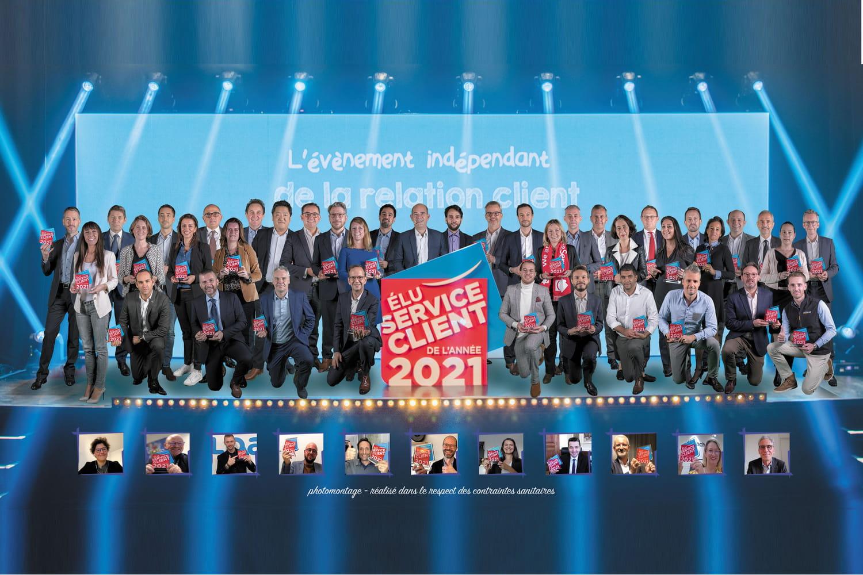 Cérémonie Elu service client de l'année: les vainqueurs de la 14e édition
