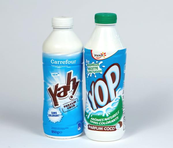 le yaourt 224 boire carrefour fabriqu 233 par yoplait