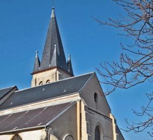 l'église saint-saturnin, à antony.