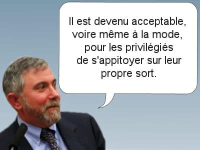 l'économiste et prix nobel d'economie 2008.