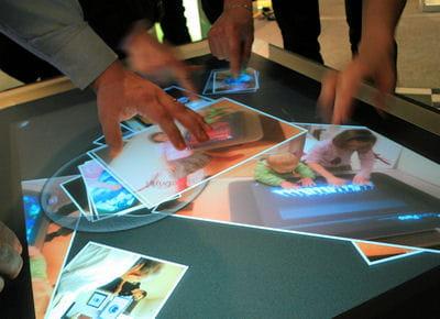 surface était en démonstration aux techdays 2009, et àsuscité un fort intérêt.
