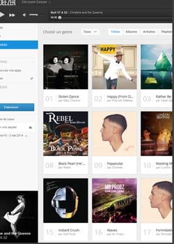 le site d'écoute en streaming deezer compte plus de 5millions d'abonnés