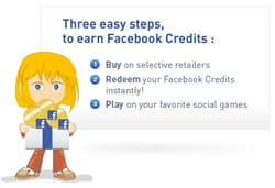 ifeelgoods propose différents moyens de gagner des facebook credits, notamment