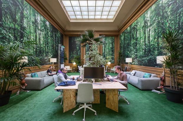 """Une """"jungle room"""""""