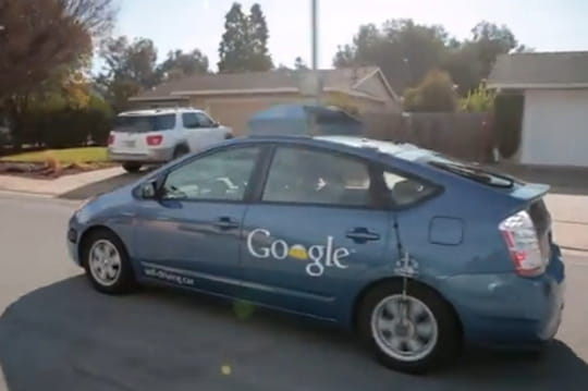 La voiture sans chauffeur de Google : comment ça marche?