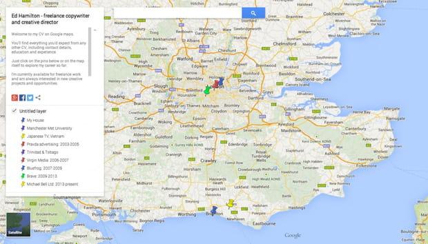 Le CV Google Maps