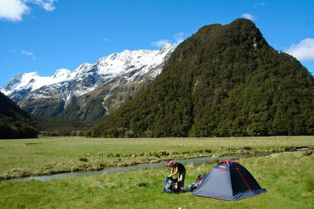 Le Routeburn Track, Nouvelle-Zélande