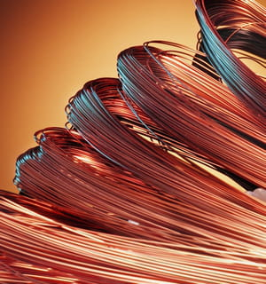 le cuivre peut être remplacé par l'aluminium, moins cher et moins rare.