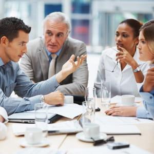 profitez des réunions d'équipe pour briller.