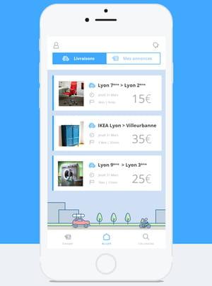 peliqan facilite le transport d 39 objets la demande. Black Bedroom Furniture Sets. Home Design Ideas