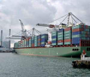 shangaï est devenu le premier port mondial en tonnages.