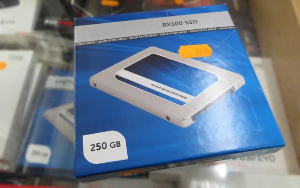 Remplacer le disque de démarrage par un disque SSD