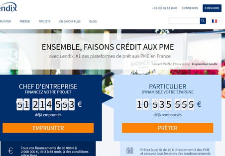 Crowdlending : Lendix lance le premier projet de financement international