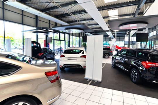 Les départements préférés des vendeurs de voitures