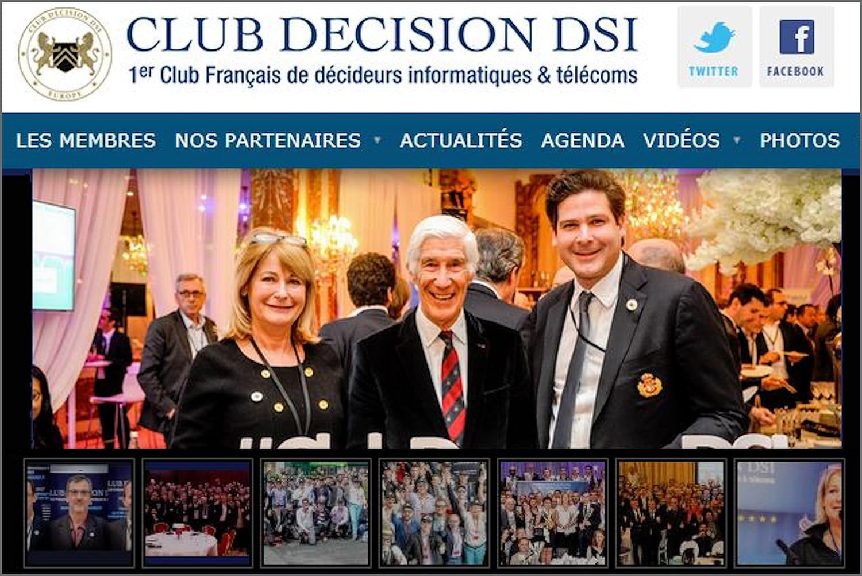 Club Décision DSI: ses axes de réflexion stratégiques 2019