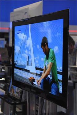 un téléviseur oled dont la commercialisation est prévue pour 2010, 2011.