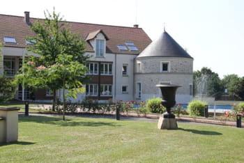 le château de sas france, à grégy-sur-yerres, en seine-et-marne, où peut