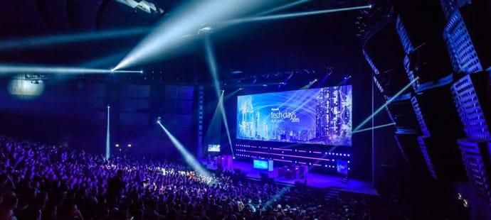 Suivez Microsoft experiences'16en live
