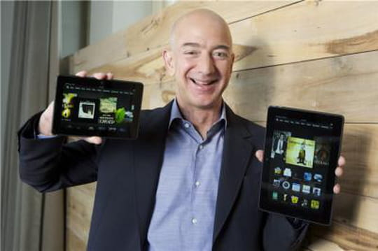 Nouvelle tablette Kindle Fire HDX: Amazon drague aussi les entreprises