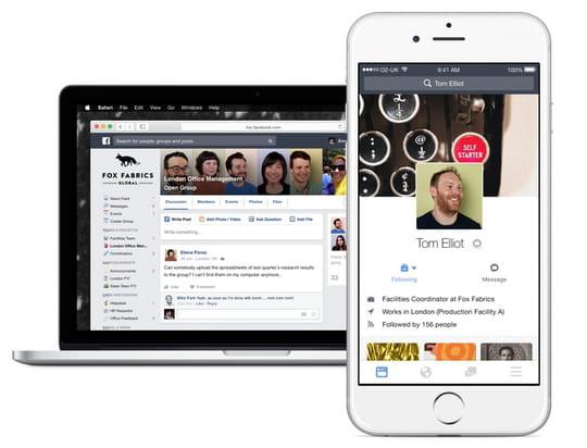 Pourquoi Workplace by Facebook ne doit pas être comparé à Slack