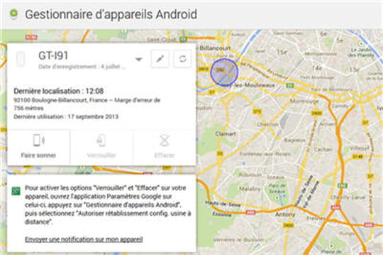 Android Device Manager : le verrouillage à distance enfin possible
