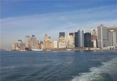 ile destaten island à new york en février 2002.