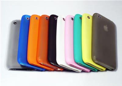 des housses hautes en couleurs