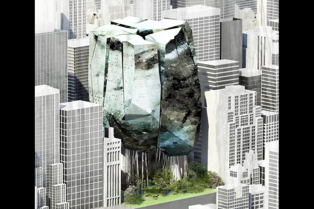 Imitation de rocher