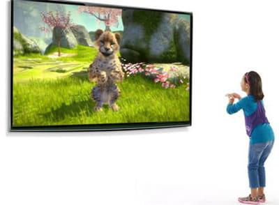 ah oui, il faut faire le beau devant son tv pour que l'animal fasse de même