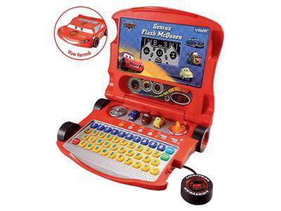 ordinateur éducatif aux couleurs du célèbre flash mc queen