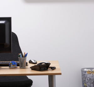 un bureau bien rangé vous fera gagner du temps.