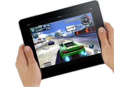 l'ipad est présenté comme une plate-forme de jeu...