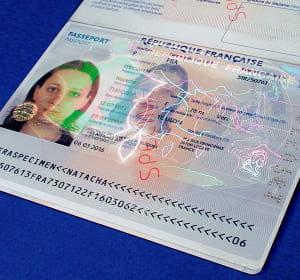 hologram industries sécurise notamment les passeports français.