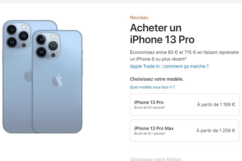 iPhone 13: où l'acheter? et à quel prix?
