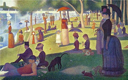 Après l'impressionnisme, du pointillisme