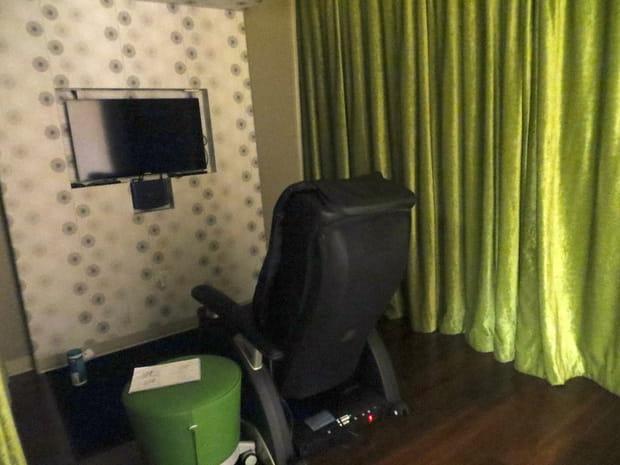 Des fauteuils de massage de luxe gardés secrets