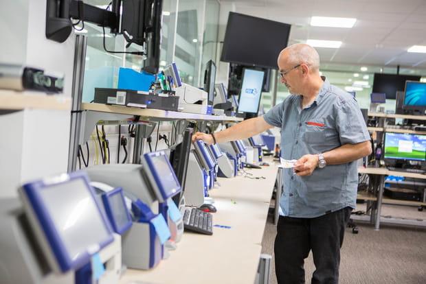 Laboratoire d'intégration des équipements des points de vente