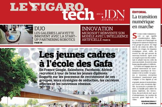 Le Figaro et le JDN lancent le supplémentFigaro Tech
