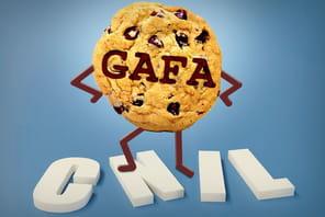 Cookies pubs: les Gafa ne se plient pas aux règles de la Cnil