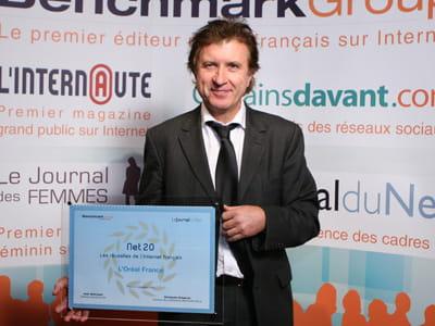 alain ducasse, directeur général france l'oréal produits grand public.