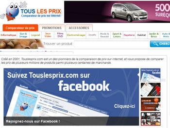touslesprix.com se distingue par son modèle au cpa.