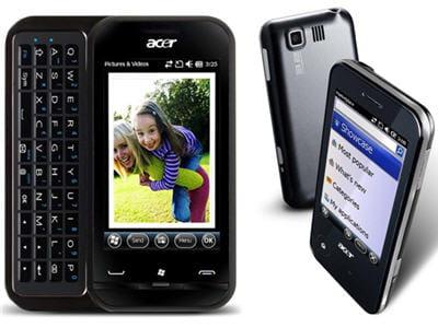 les newtouch p400 et newtouch p300, les deux smartphones sous windows mobile