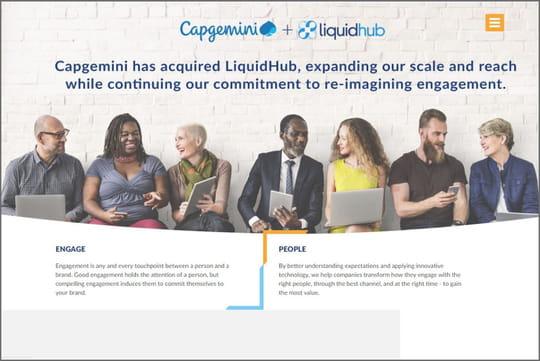 Capgemini fait de LiquidHub sa tête de pont dans le digital aux US