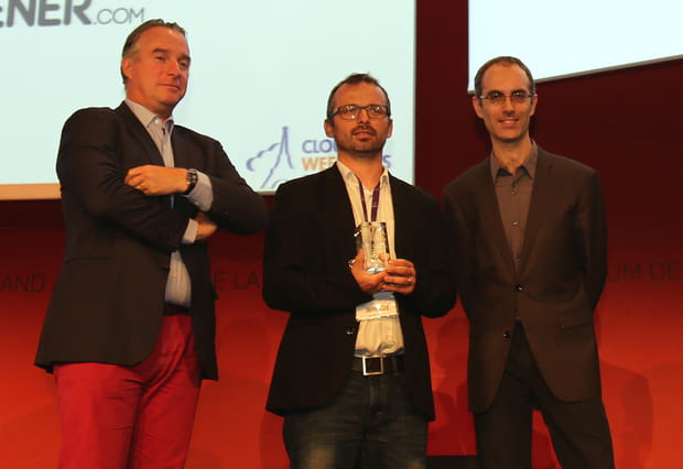 Trophée de la meilleure start-up du cloud : CloudScreener