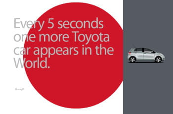 le site 'every 5 seconds' de toyota