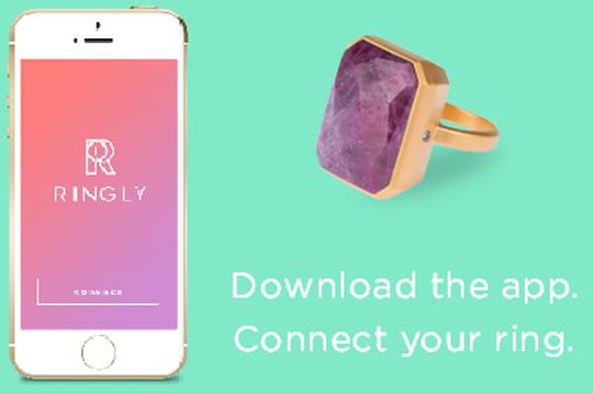 Les bagues connectées de Ringly sur lavoie du succès