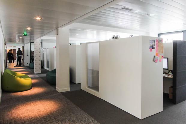 Bureaux semi-ouverts