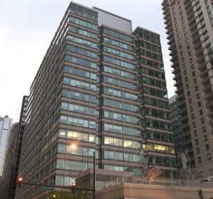 le siège américain de pepsi à chicago.